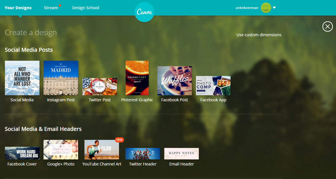 grafische tool canva design