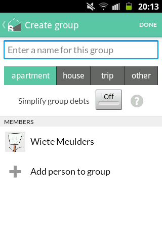 how to delete group in splitwise