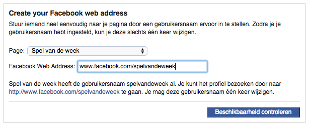 web address aanpassen